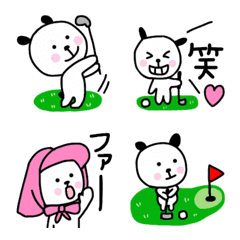 ゴルフ大好き♡絵文字
