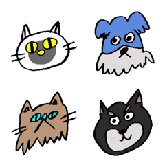 nyonpan 猫達と犬達