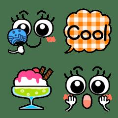夏♥️ファンシガール可愛いチェック絵文字