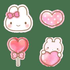 かわいい♡ガーリー絵文字【ピンク】