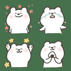 使える★タレ目の白クマ