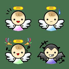 ★天使の絵文字…ちょっと悪魔★