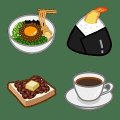 名古屋めし&喫茶店グルメ絵文字