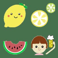 夏が来た☆シンプル絵文字