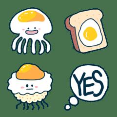 目玉焼きクラゲ