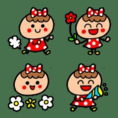 riekimの赤ドットちゃん絵文字