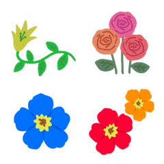 花と葉のオトナ可愛いフレーム♥️