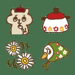 昭和レトロモチーフ絵文字 #1