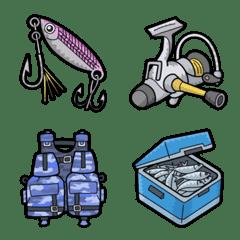 [ 釣り ] みんなの絵文字 基本セット