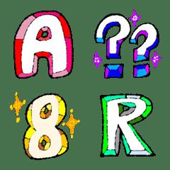 キラキラ宝石 絵文字2