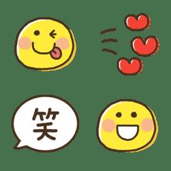 スマイル★シンプル絵文字