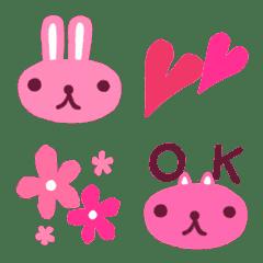 ぴんくピンク絵文字