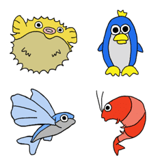 ゆるゆる!海の生き物