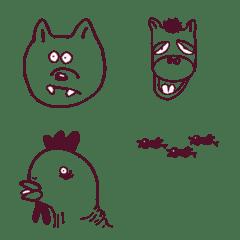絶妙にキモい動物たち