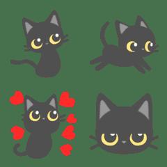 会話で使おう!黒猫、子猫♪可愛い♡絵文字