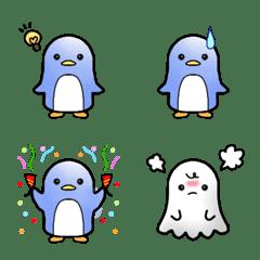 ★ペンギンの絵文字…ちょっとおばけ★