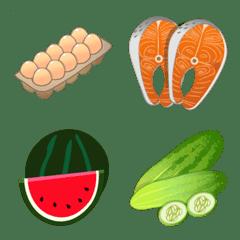 Grocery emojis