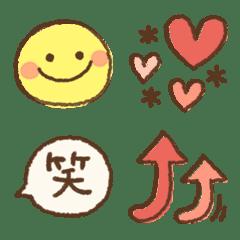 シンプル♡長く使える絵文字