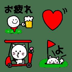 ゴルフねこちゃん♡