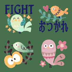 小鳥の毎日絵文字3