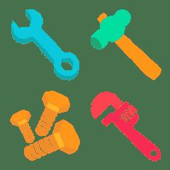 ◆工具とか道具とか金物だらけ‼️◆ 絵文字