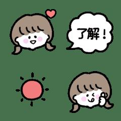 ゆるかわガール♡シンプル