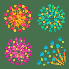 ◆花火だらけ‼️◆絵文字