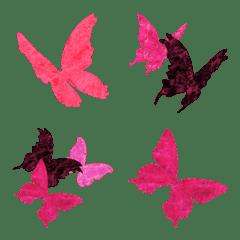 ◆蝶だらけ‼️◆絵文字
