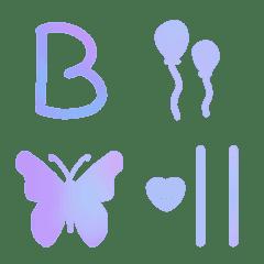 Pastel_color_font_II