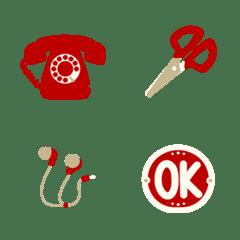 Red item
