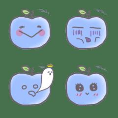 青色りんごさんの喜怒哀楽〔絵文字〕