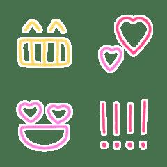 シンプルで使える絵文字