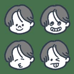 ieie emoji 002 小学生男の子