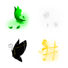 Monochrome_colors__butterfly