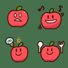りんごしゃきしゃき絵文字