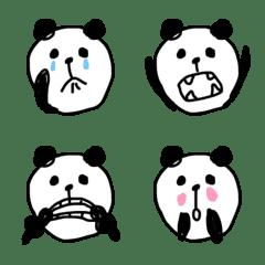 落書きパンダ♡絵文字
