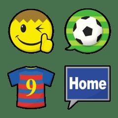 スマイリー フットボール 絵文字 2nd