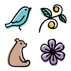 動植物の絵文字