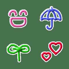 シンプル/絵文字