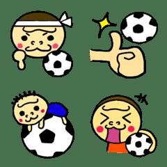 ハッピーゴリラ 絵文字3 サッカー