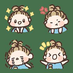 Baby Na and Guo - Emoji