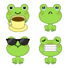 Green Frog Emoji