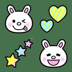 ◆ウサギ&いろいろ絵文字◆