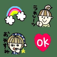 元気ハツラツ系女子♡絵文字