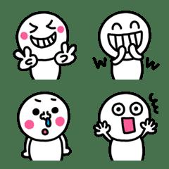 riekimのしろたまちゃん絵文字2