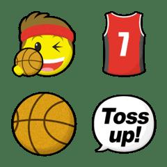 スマイリー バスケットボール 絵文字