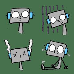 なんだか憎めないロボットの絵文字