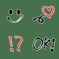 シンプル☆マーカー絵文字