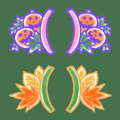 大人可愛い♥️花&植物&ハロウィンフレーム