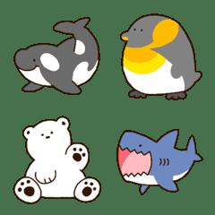 海の生き物いろいろ絵文字